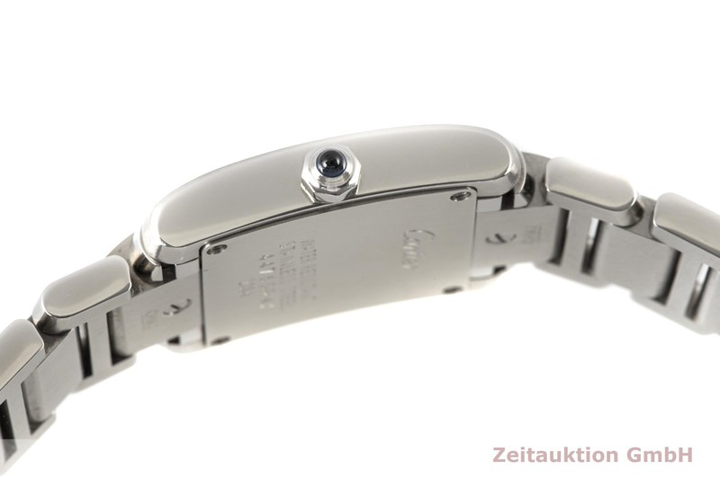 gebrauchte Luxusuhr Cartier Tank Francaise Stahl Quarz Kal. 057 Ref. 2384  | 2100316 _1
