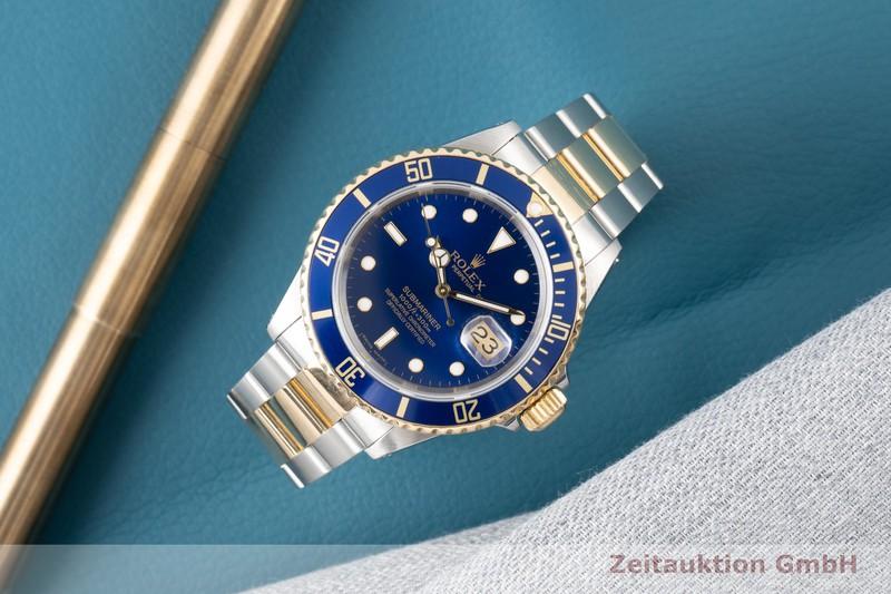 gebrauchte Luxusuhr Rolex Submariner Stahl / Gold Automatik Kal. 3135 Ref. 16613  | 2100322 _0