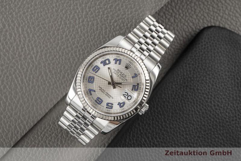 gebrauchte Luxusuhr Rolex Datejust Stahl / Weissgold Automatik Kal. 3135 Ref. 116234  | 2100339 _0