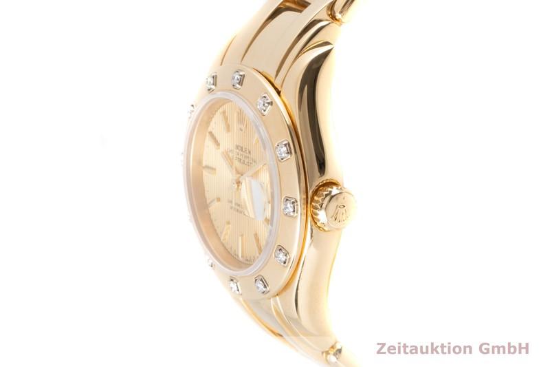 gebrauchte Luxusuhr Rolex Lady Datejust 18k Gold Automatik Kal. 2135 Ref. 69318  | 2100348 _0