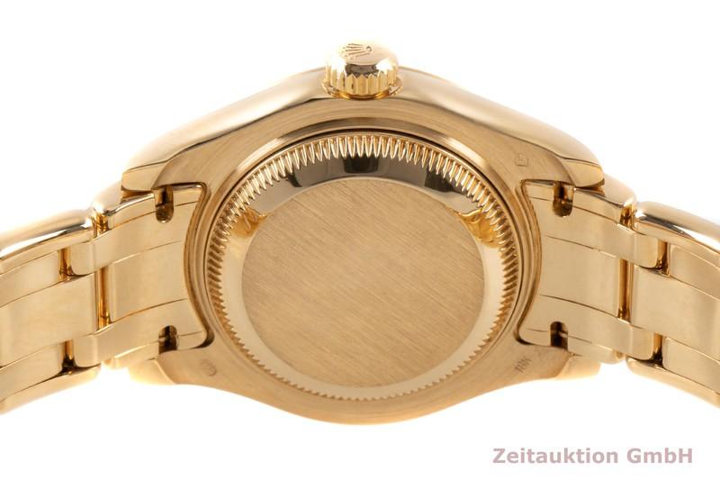 gebrauchte Luxusuhr Rolex Lady Datejust 18k Gold Automatik Kal. 2135 Ref. 69318  | 2100348 _1
