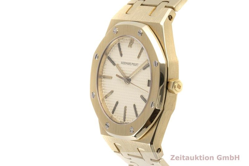 gebrauchte Luxusuhr Audemars Piguet Royal Oak 18k Gold Quarz Kal. 2506 Ref. 56023BA  | 2100353 _0