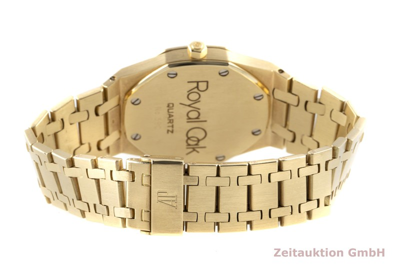 gebrauchte Luxusuhr Audemars Piguet Royal Oak 18k Gold Quarz Kal. 2506 Ref. 56023BA  | 2100353 _1