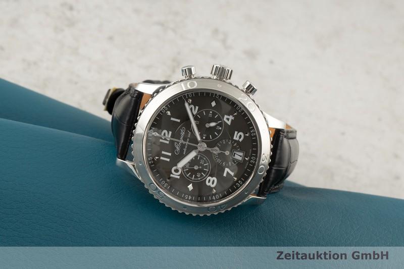 gebrauchte Luxusuhr Breguet Type XXI Chronograph Stahl Automatik Kal. 5840/1 Ref. 3810, 3810ST929ZU    2100354 _0