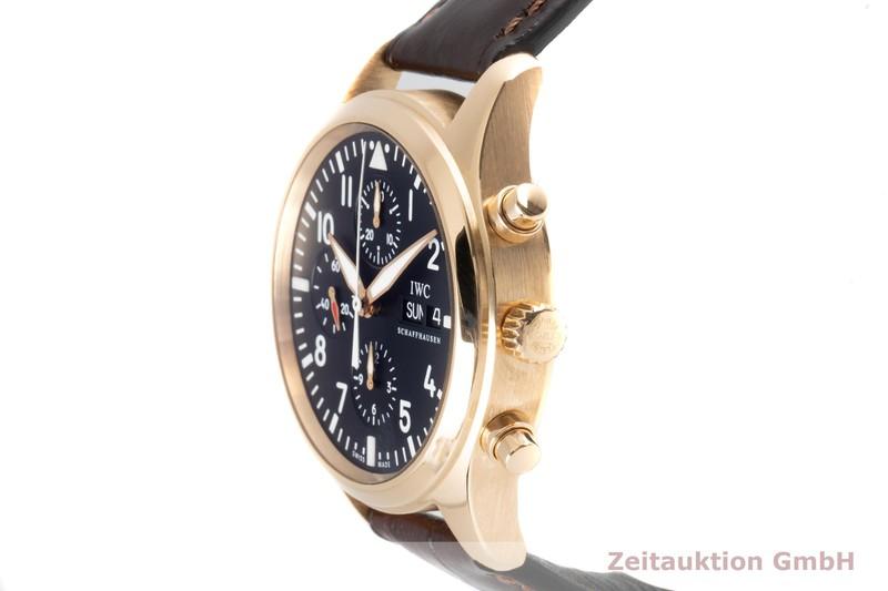 gebrauchte Luxusuhr IWC Pilot Chronograph 18k Gold Automatik Kal. C.79320 Ref. IW371713  | 2100355 _0