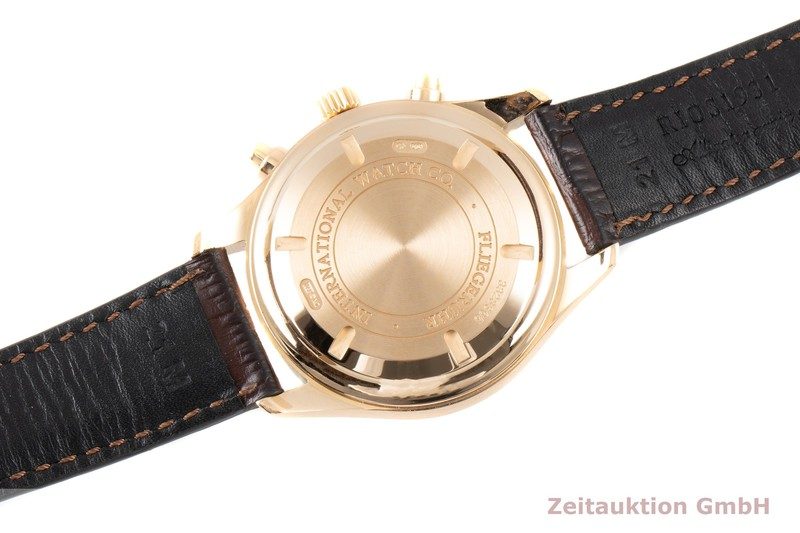 gebrauchte Luxusuhr IWC Pilot Chronograph 18k Gold Automatik Kal. C.79320 Ref. IW371713  | 2100355 _1