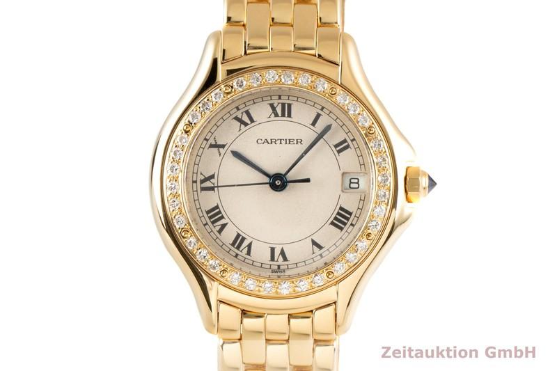 gebrauchte Luxusuhr Cartier Cougar 18k Gold Quarz Kal. 687 Ref. 8879  | 2100357 _0