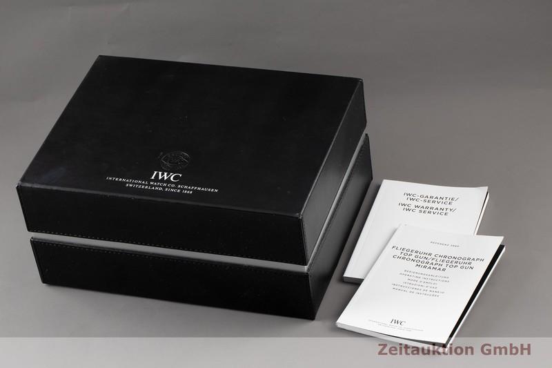 gebrauchte Luxusuhr IWC Big Pilot Chronograph Keramik / Titan Automatik Kal. C.89365 Ref. 3880  | 2100375 _0