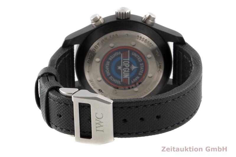 gebrauchte Luxusuhr IWC Big Pilot Chronograph Keramik / Titan Automatik Kal. C.89365 Ref. 3880  | 2100375 _1