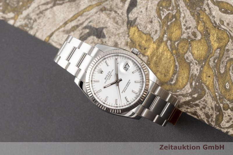 gebrauchte Luxusuhr Rolex Oyster Perpetual Stahl / Weissgold Automatik Kal. 3135 Ref. 115234    2100378 _0