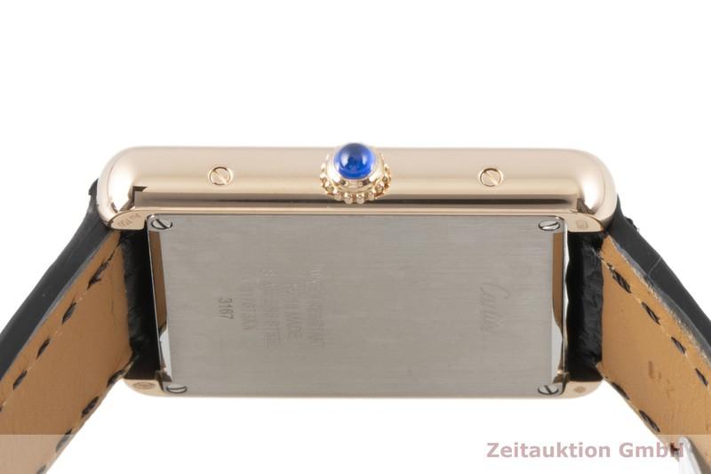 gebrauchte Luxusuhr Cartier Tank 18k Gold Quarz Kal. 690 Ref. W5200025, 3167  | 2100385 _1