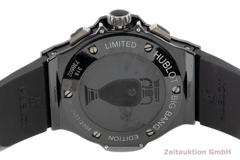 gebrauchte Luxusuhr Hublot Big Bang Chronograph Keramik / Titan Automatik Ref. 318 LIMITED EDITION | 2100397 _1