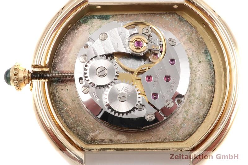 gebrauchte Luxusuhr Cartier Ellipse 18k Gold Handaufzug Kal. 78/1 Ref. 78091  | 2100400 _1