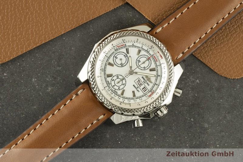 gebrauchte Luxusuhr Breitling Bentley GT Chronograph Stahl Automatik Kal. B13 Ref. A13365  | 2100425 _0