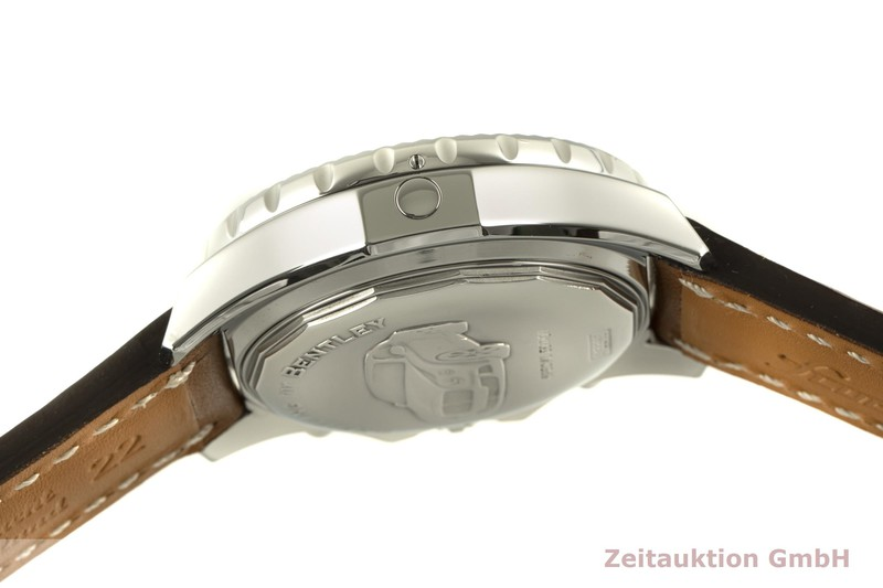gebrauchte Luxusuhr Breitling Bentley GT Chronograph Stahl Automatik Kal. B13 Ref. A13365  | 2100425 _1
