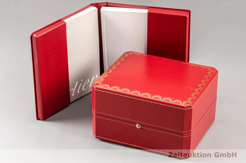 gebrauchte Luxusuhr Cartier Tank Américaine 18k Weissgold Quarz Kal. 157 Ref. 1713  | 2100432 _0