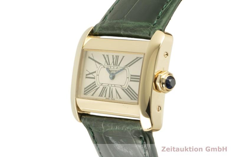 gebrauchte Luxusuhr Cartier Tank Divan 18k Gold Quarz Kal. 157 Ref. 2601  | 2100433 _0