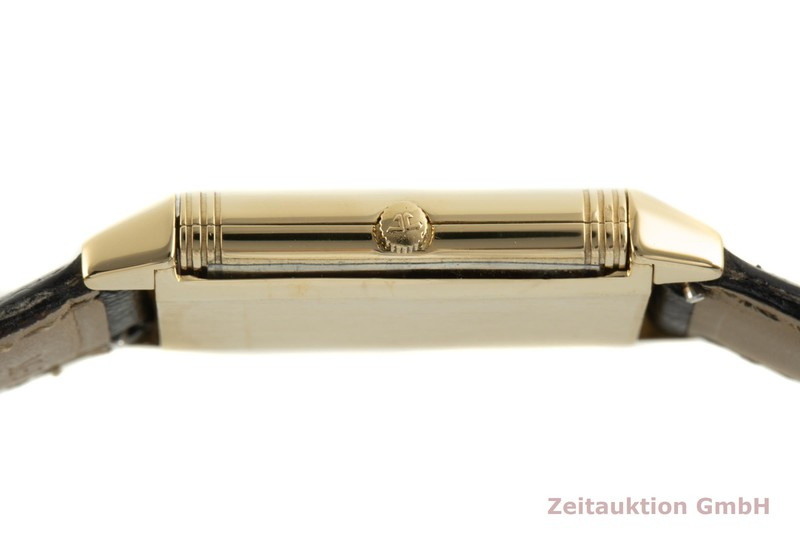 gebrauchte Luxusuhr Jaeger LeCoultre Reverso 18k Gold Quarz Kal. 611 Ref. 250.1.86    2100441 _1