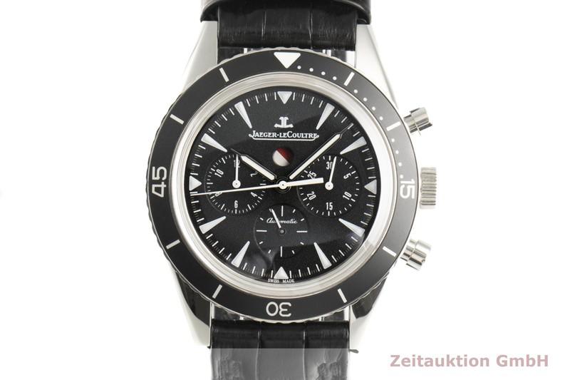 gebrauchte Luxusuhr Jaeger LeCoultre Deep Sea Chronograph Stahl Automatik Kal. 758 Ref. 135.8.C8    2100467 _0