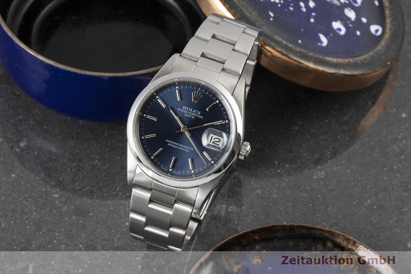 gebrauchte Luxusuhr Rolex Date Stahl Automatik Kal. 3135 Ref. 15200 VINTAGE    2100469 _0
