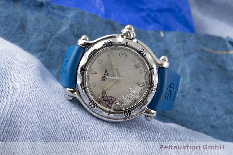 gebrauchte Luxusuhr Chopard Happy Sport Stahl Quarz Ref. 28/8347/8-403  | 2100490 _0