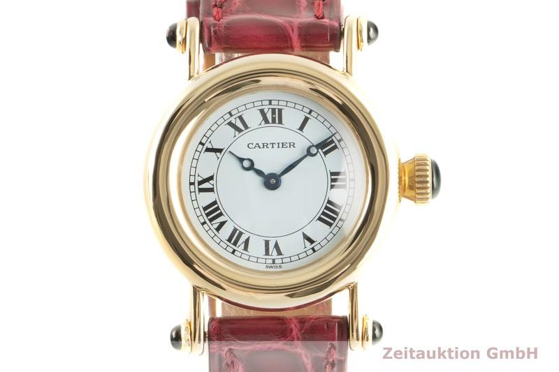 gebrauchte Luxusuhr Cartier Diabolo 18k Gold Quarz Kal. 057 Ref. 14400  | 2100503 _0