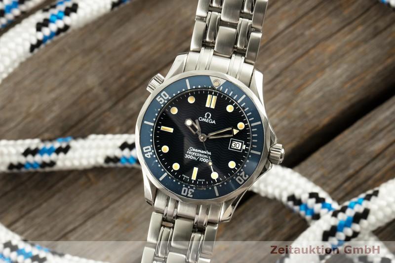 gebrauchte Luxusuhr Omega Seamaster Stahl Quarz Kal. 1538 Ref. 2561.80.00, 196.1502  | 2100505 _0