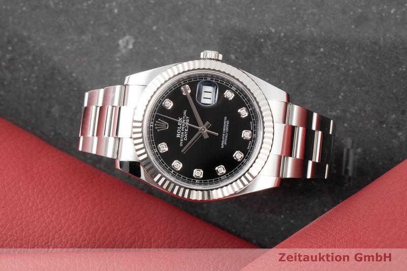 gebrauchte Luxusuhr Rolex Datejust Stahl / Weissgold Automatik Kal. 3235 Ref. 126334  | 2100513 _0