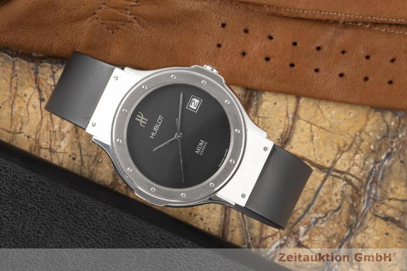 gebrauchte Luxusuhr Hublot Classic Stahl Quarz Ref. 1521.100.1  | 2100534 _0