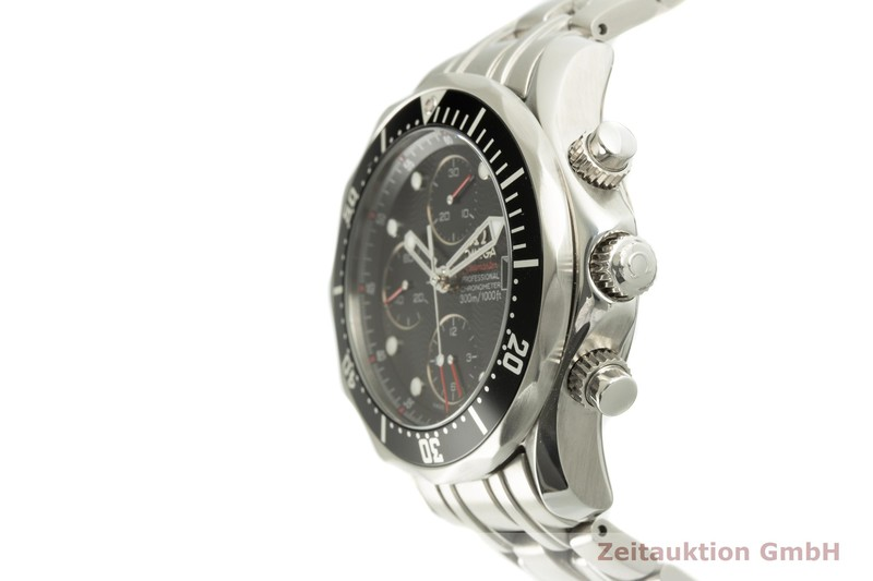 gebrauchte Luxusuhr Omega Seamaster Chronograph Stahl Automatik Kal. 1164 Ref. 178.0523, 213.30.42.40.01.001  | 2100544 _0