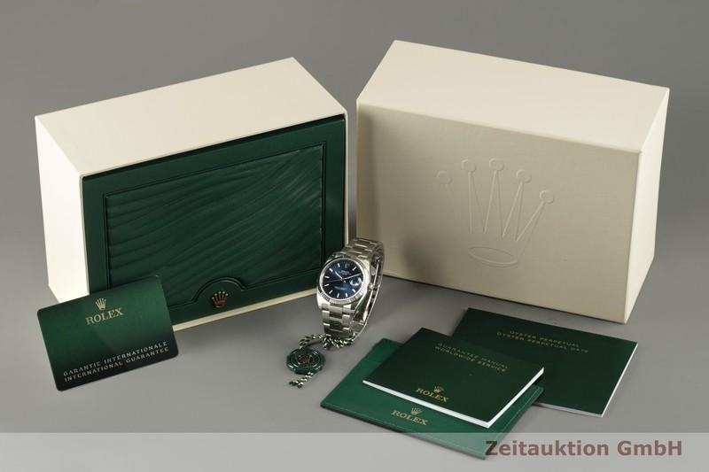 gebrauchte Luxusuhr Rolex Date Stahl / Weissgold Automatik Kal. 3135 Ref. 115234    2100547 _0