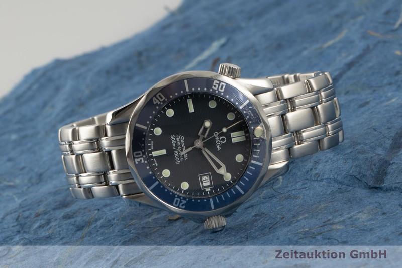 gebrauchte Luxusuhr Omega Seamaster Stahl Quarz Kal. 1538 Ref. 196.1522    2100557 _0