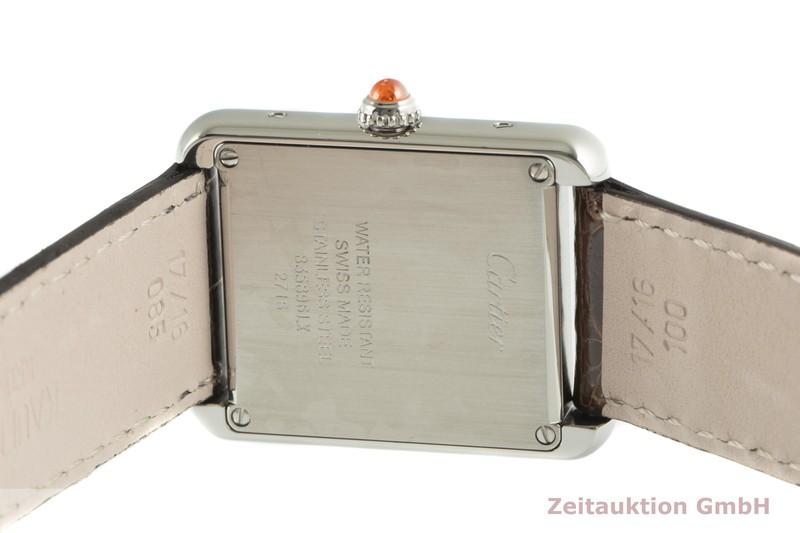 gebrauchte Luxusuhr Cartier Tank Stahl Quarz Kal. 157 Ref. 2716  | 2100574 _1