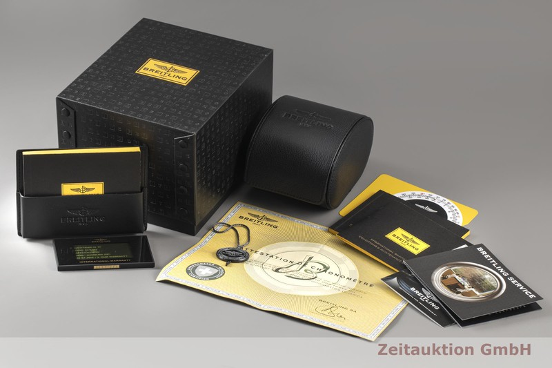 gebrauchte Luxusuhr Breitling Navitimer 01 46 Chronograph Stahl Automatik Kal. B01 Ref. AB012721/BD09  | 2100576 _0