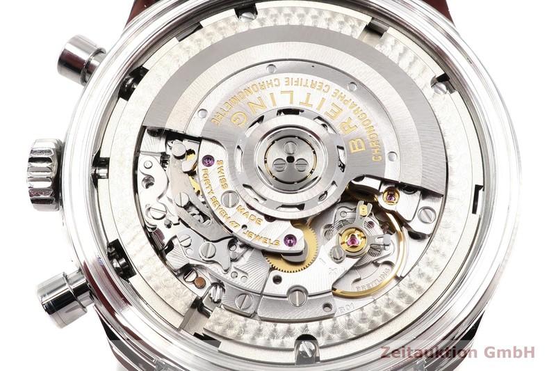 gebrauchte Luxusuhr Breitling Navitimer 01 46 Chronograph Stahl Automatik Kal. B01 Ref. AB012721/BD09  | 2100576 _1