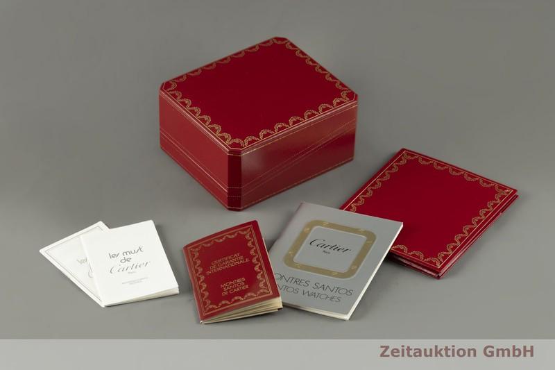 gebrauchte Luxusuhr Cartier Vendome 18k Gold Quarz Kal. 81 Ref. 881004  | 2100579 _0