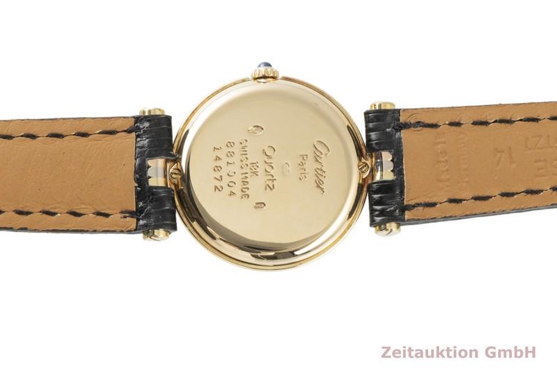 gebrauchte Luxusuhr Cartier Vendome 18k Gold Quarz Kal. 81 Ref. 881004  | 2100579 _1