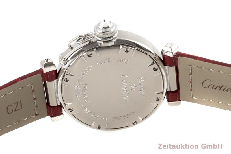 gebrauchte Luxusuhr Cartier Pasha 18k Weissgold Automatik Kal. 120 Ref. 2400  | 2100580 _1