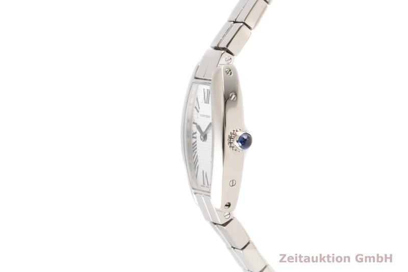 gebrauchte Luxusuhr Cartier Tonneau 18k Weissgold Quarz Kal. 028 Ref. 2545  | 2100582 _0