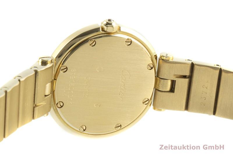 gebrauchte Luxusuhr Cartier Santos 18k Gold Quarz Kal. 81  | 2100591 _1