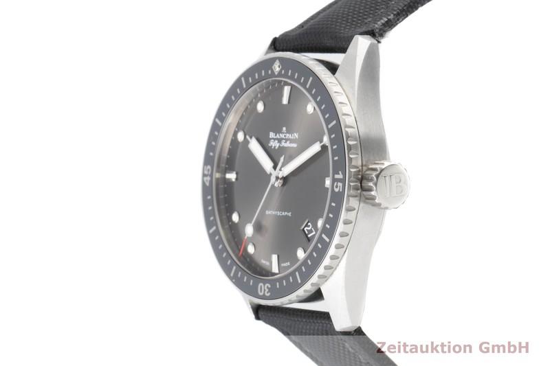 gebrauchte Luxusuhr Blancpain Fifty Fathoms Stahl Automatik Kal. 1315 Ref. 5000-1110-B52A    2100596 _0