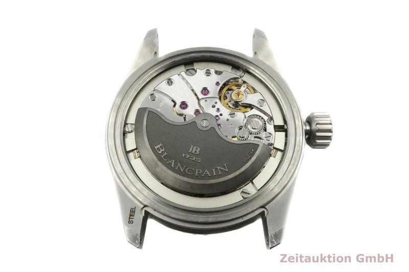 gebrauchte Luxusuhr Blancpain Fifty Fathoms Stahl Automatik Kal. 1315 Ref. 5000-1110-B52A    2100596 _1