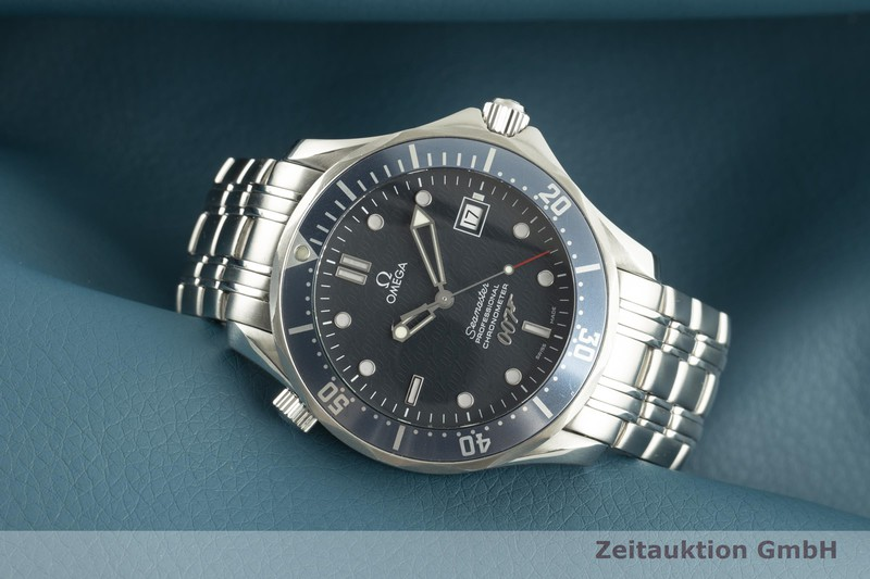gebrauchte Luxusuhr Omega Seamaster Stahl Automatik Kal. 1120 Ref. 168.1626, 2537.80.00 LIMITED EDITION   2100608 _0