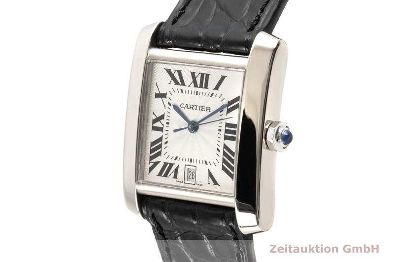 gebrauchte Luxusuhr Cartier Tank Francaise 18k Weissgold Automatik Kal. 120 Ref. 2366  | 2100609 _0