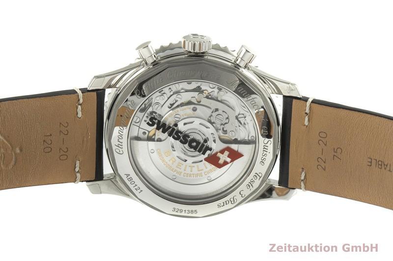 gebrauchte Luxusuhr Breitling Navitimer 01 Chronograph Stahl Automatik Kal. B01 Ref. AB0121    2100642 _1