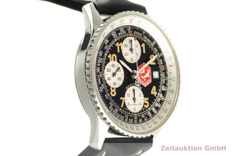 gebrauchte Luxusuhr Breitling Old Navitimer Chronograph Stahl Automatik Kal. B13 Ref. A13022 LIMITED EDITION | 2100660 _0