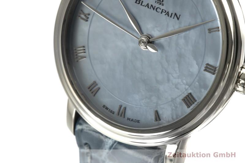 gebrauchte Luxusuhr Blancpain Villeret 18k Weissgold Automatik Kal. 953 Ref. 6102  | 2100684 _1