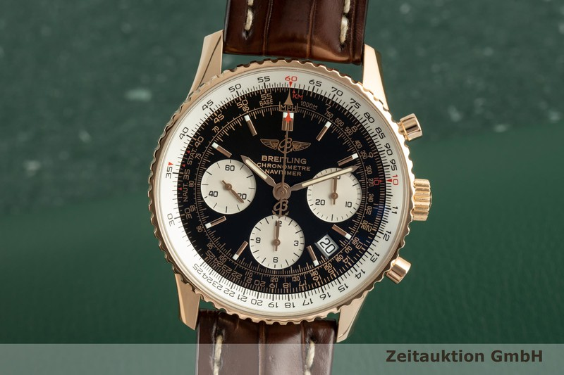 gebrauchte Luxusuhr Breitling Navitimer Chronograph 18k Rotgold Automatik Ref. R23322 LIMITED EDITION | 2100688 _0
