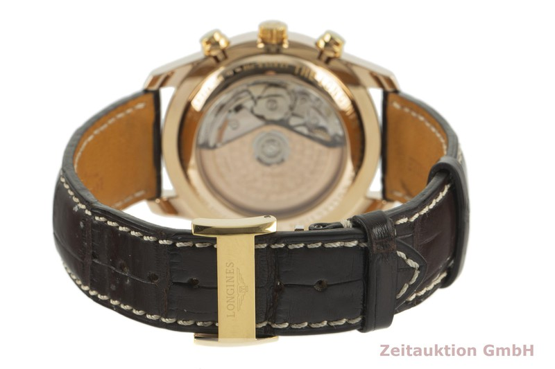 gebrauchte Luxusuhr Longines Master Collection Chronograph 18k Rotgold Automatik Kal. L678.2 Ref. L2.673.8  | 2100903 _1