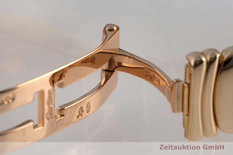 gebrauchte Luxusuhr Cartier Baignoire 18k Gold Quarz Kal. 057.06 Ref. 1950    2101340 _1